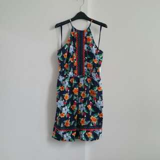 BNWT Floral Halter Dress from Garage
