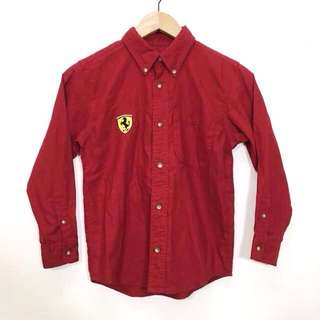 Ferrari Button Up Shirt