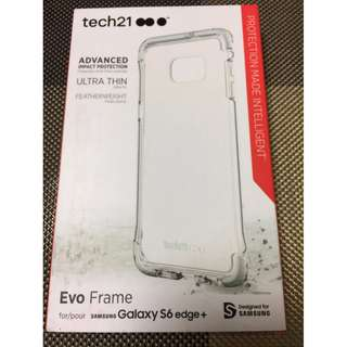 Tech21 Samsung Galaxy S6 Edge+ Plus Evo Frame white phone case
