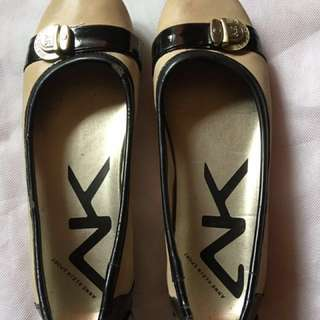 💯% auth ..Anne Klein doll shoes have some flaws due to storage worn 5x or less size 6
