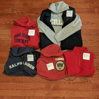 Vintage Sweaters/ Windbreakers