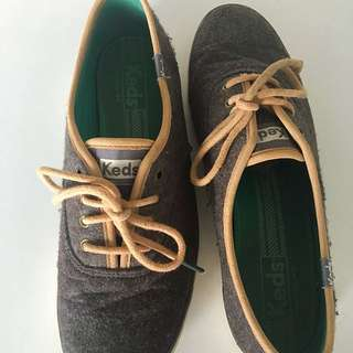 KEDS Women Shoes Grey Anthracite Size 38/ UK 5/ AUS 7