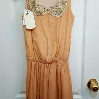 Collar Dress (S)