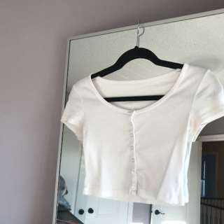 American Apparel Cropped T-Shirt Size S