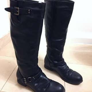 Riding Boots (Back Zipper)
