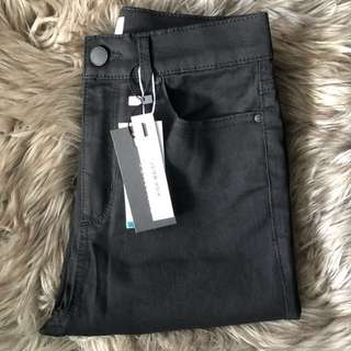 New Dynamite High-Waisted Black Jeans