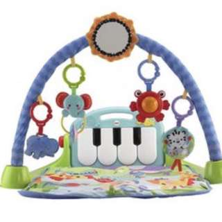 Kick piano floor play mat