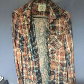 Vintage Look flannel Size S