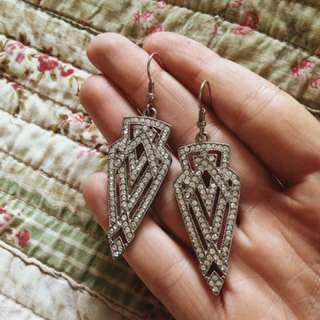 Great Gatsby style earrings