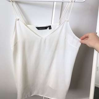 White Glassons Cami