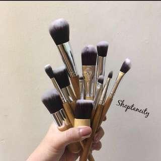 11pcs Bamboo Brush Set