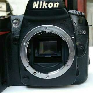 Nikon D90 BODY ONLY TURUN HARGA SERIOUS BUYER ONLY