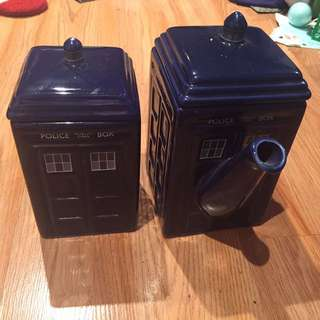 TARDIS Teapot and Mug
