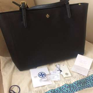 Tory Burch Tote like new complete receipt