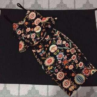 REPRICED Terno blouse, skirt