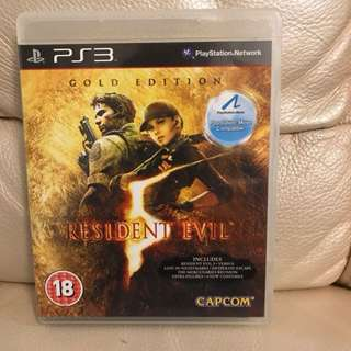 PS3 Resident Evil 5 Gold Edition (support PS move) 生化危機5金版(支持PS move)