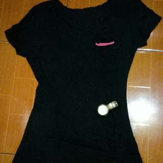 Folded And Hung V Neck Shirt