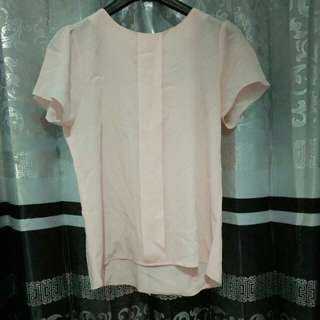 Blouse pink soft