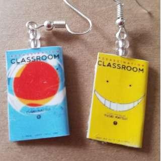 Assassination Classroom Earrings