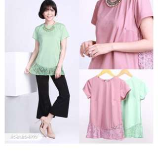 Warna mint size M fit L