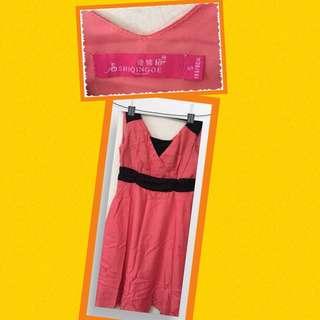 Preloved dress pink