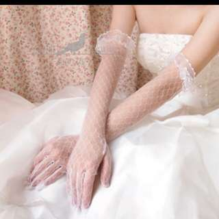 Bride wedding glove (nikah / khawin)