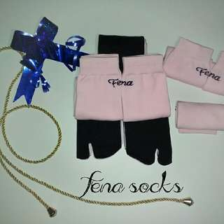Pink In Fena Socks