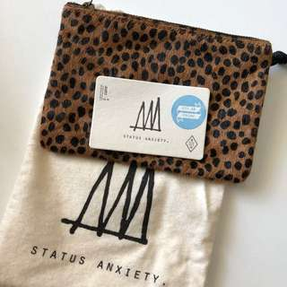Status Anxiety small pouch