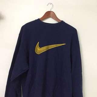 Nike oversized crew neck vintage