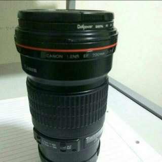 Canon prime 200mm f2.8 L lens mark 2