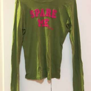 Juicy Couture long sleeved cotton shirt