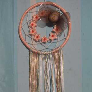 Girly Dream Catcher w/ Butterfly