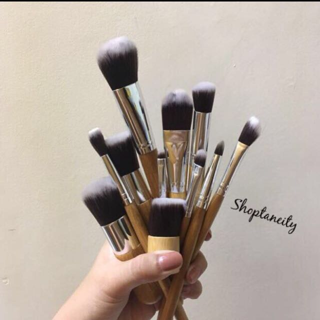 11pcs Bamboo Brush Set