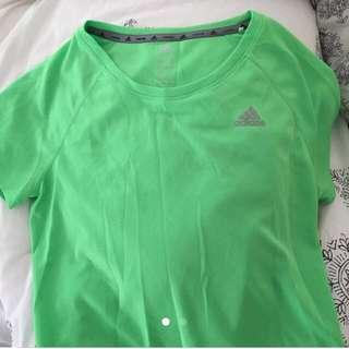 Neon Green Adidas Shirt