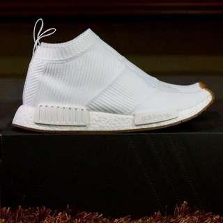 White Adidas NMD Gum Pack