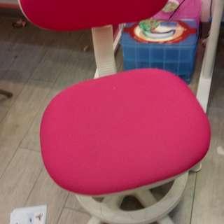 兒童成長坐椅 高低可調 有靠背 藍色或粉色