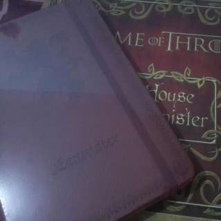 Game Of Thrones Stationary Booknote