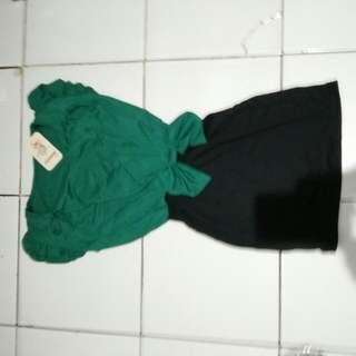 Dress Ribbon Green