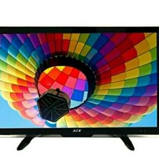"""Ace 24"""" Super Slim Full HD LED TV Black LED-802"""