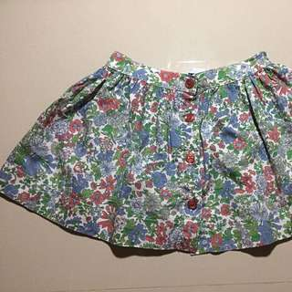 Gingersnaps tiny floral skirt