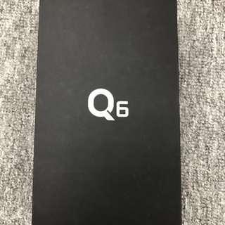 全新港行LG Q6黑色有單有保