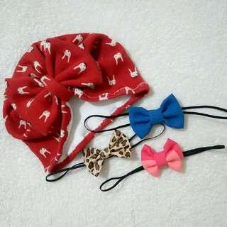 Hat Turband & Head Bows