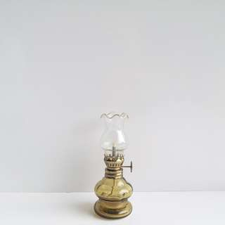 Vintage Mini Glass Oil Lamp 復古迷你玻璃油燈