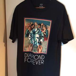 Diamond supply Co, Diamonds Forever T-Shirt Lare