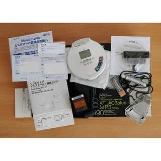 Sony D-NE920 ne920 CD Walkman 隨身聽 庫存機 99新