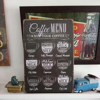 Coffee Design Tin