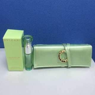 Bvlgari Omnia Green Gade Perfume set (10ml Perfume + Perfume bag)