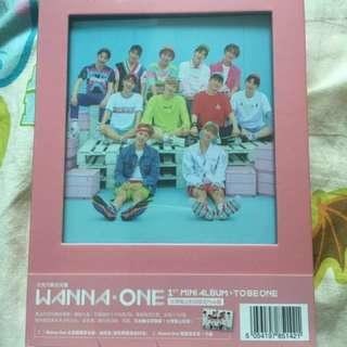 Wanna One 全新未拆台版album