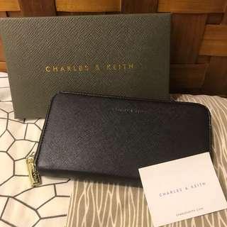 Charles&keith 新加坡小ck長夾