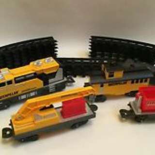 CAT Construction Express Train Set